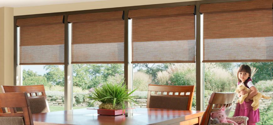 Kids Safety Dual Roller Shades