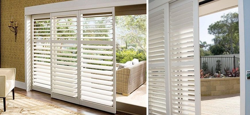 Sliding Shutters for Patio