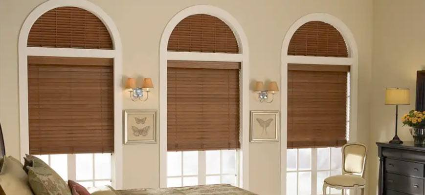 Half Moon Shaped Window Coverings For Your Uniquely Shaped