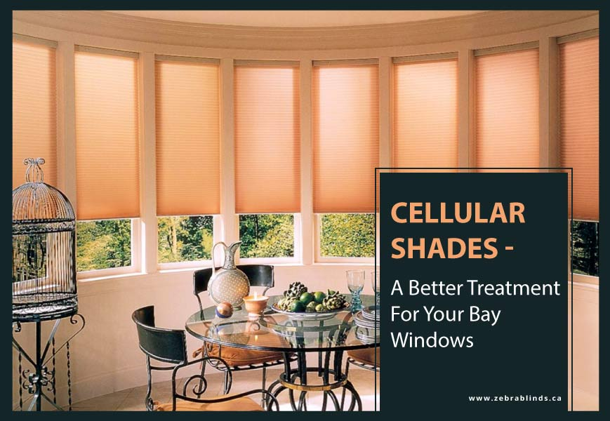Cellular Shades for Bay Windows