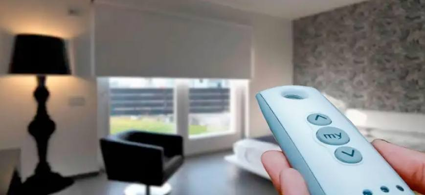Remote Control Window Blinds