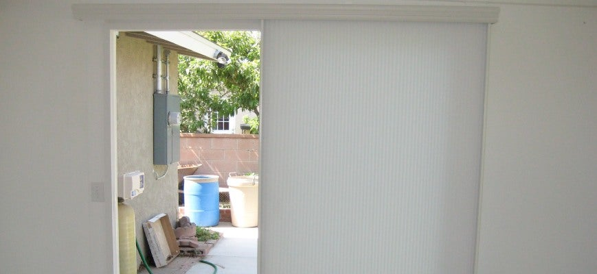 Vertical Sheer Shades for Sliding Patio Doors
