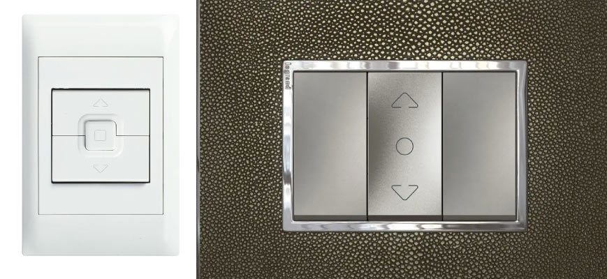Motorized Control Wall Switches