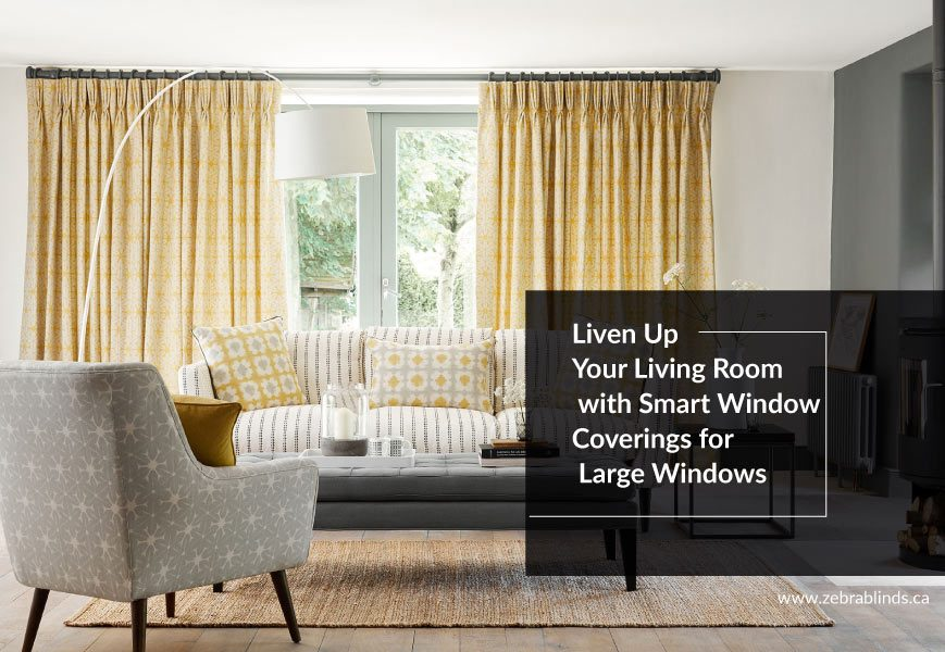 Smart Window Coverings for Large Windows