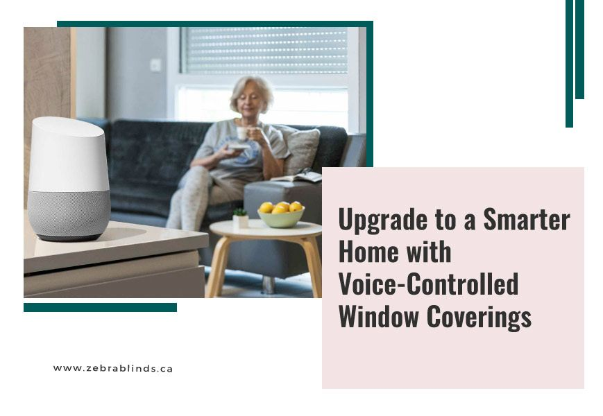Voice Activated Window Coverings