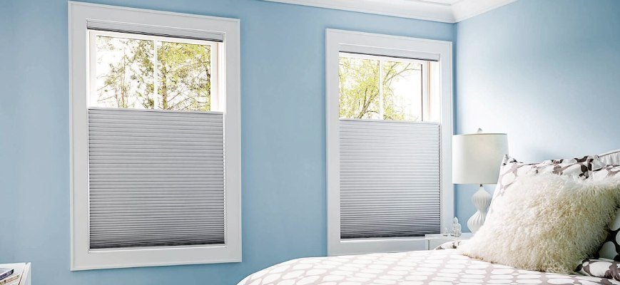 Blackout Cellular Shades for Bedroom