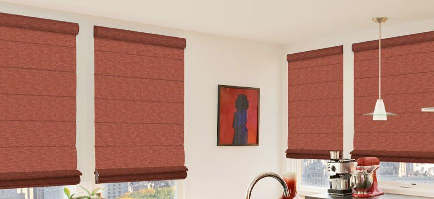 Blackout Roman Shades