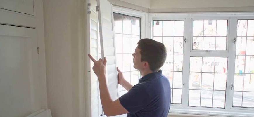 Installation of Window Shutters