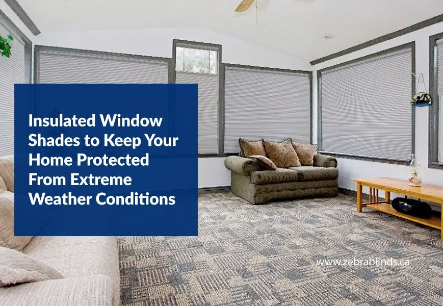 Insulated Window Shades