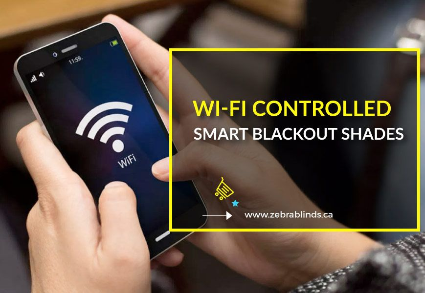 Wi-Fi Controlled Smart Blackout Shades