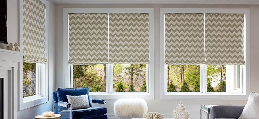Roller Solar Shades for Wide Windows
