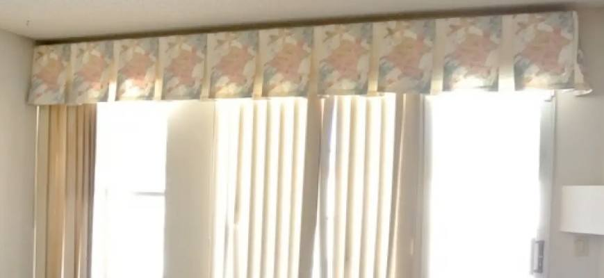Valances on Vertical Blinds