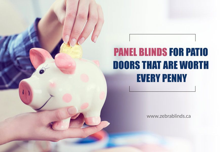 Panel Blinds for Patio Doors