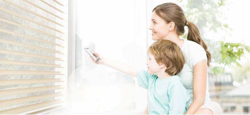Childproof Remote Control Blinds