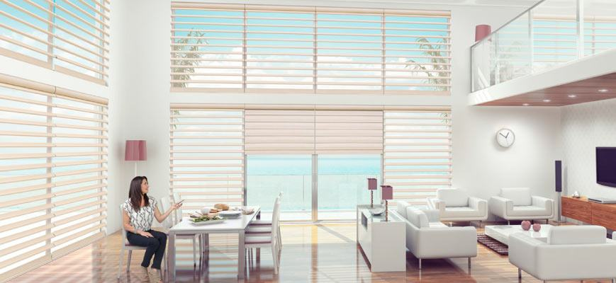 Remote Control Blinds for Hard to Reach Windows