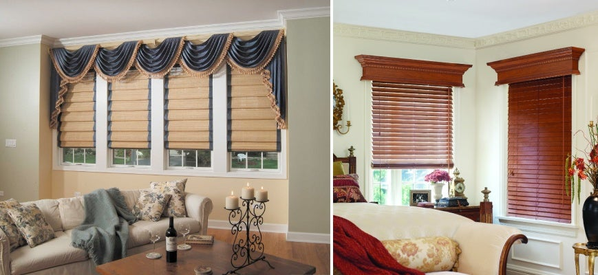 Wood Valances and Cornices
