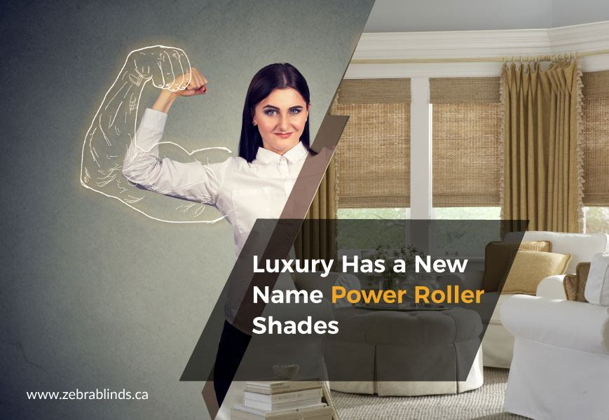 Power Roller Shades