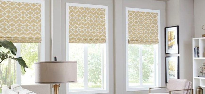 Luxury Roman Shades