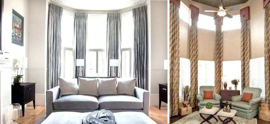 Sheer Curtains for Tall Windows