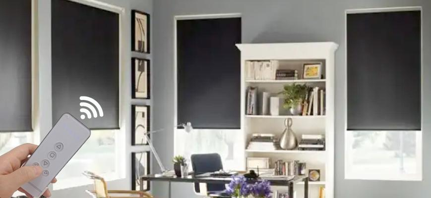 Electric Blackout Shades