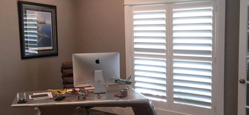 Wooden Shutters for Office