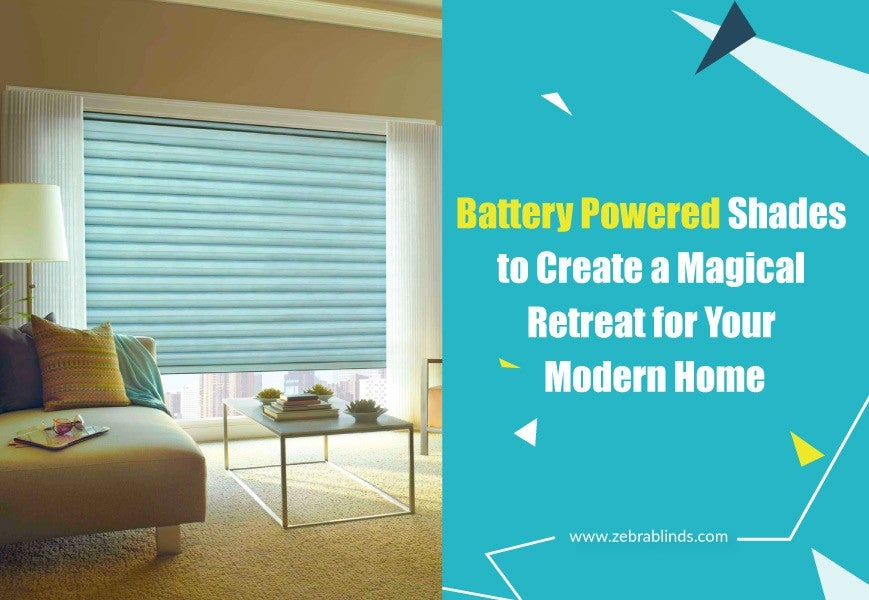 Battery Powered Window Shades