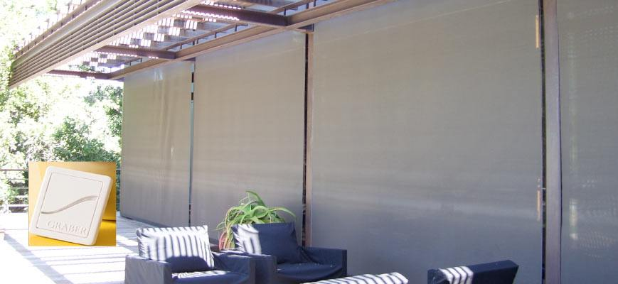 Motorized Outdoor Blackout Shades