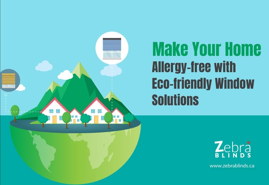Make Your Home Allergy Free with Eco-Friendly Window Solutions