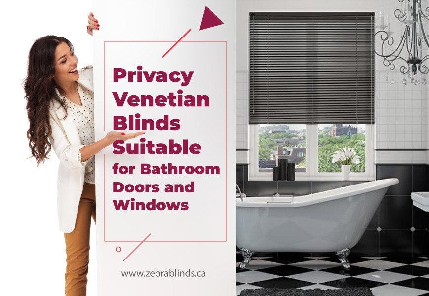 Privacy Venetian Blinds Suitable For Bathroom Doors And Windows