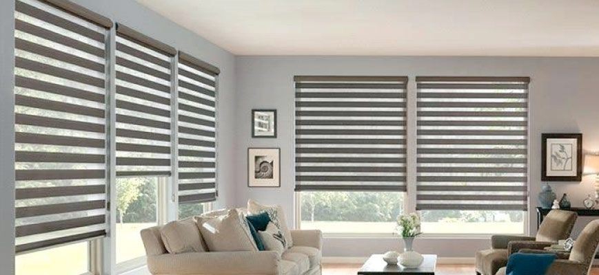 Sheer Shades for Living Room