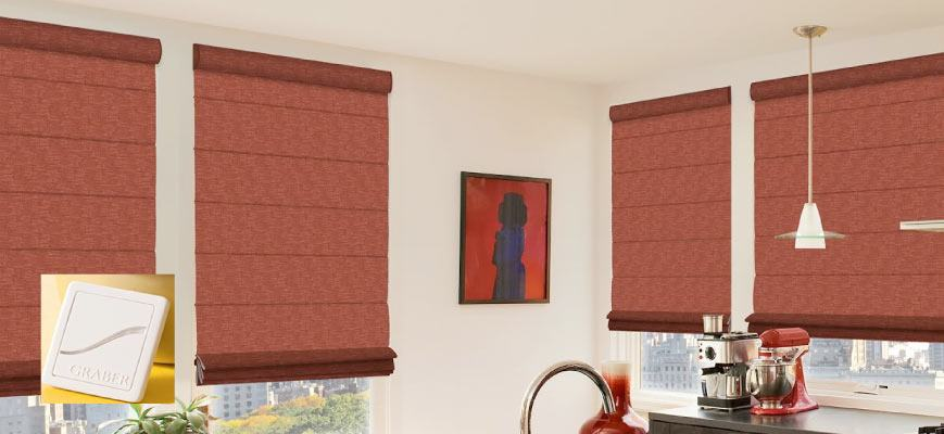 Graber Virtual Cord Blackout Shades