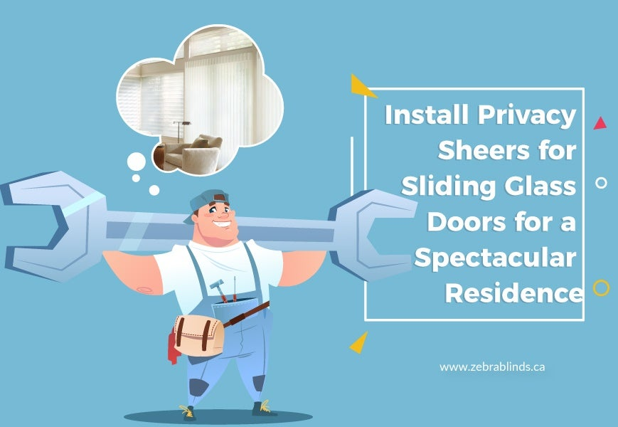 Privacy Sheers for Sliding Glass Doors