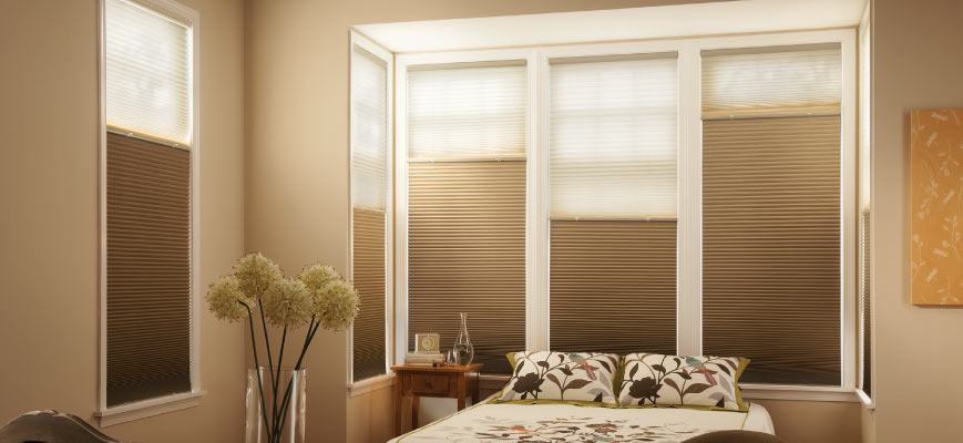Sun Up Sun Down Cellular Shades for Sliding Glass Doors