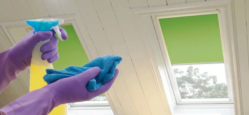 Cleaning Skylight Shades