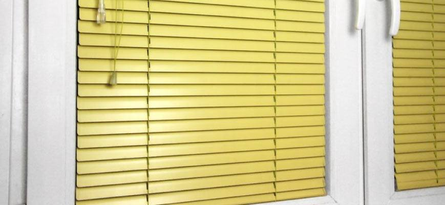Horizontal Vinyl Blinds