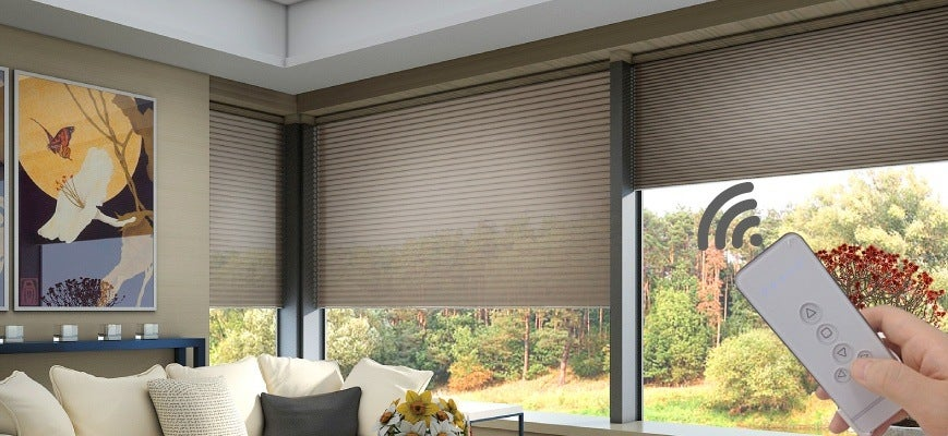 Remote Controlled Cellular Shades