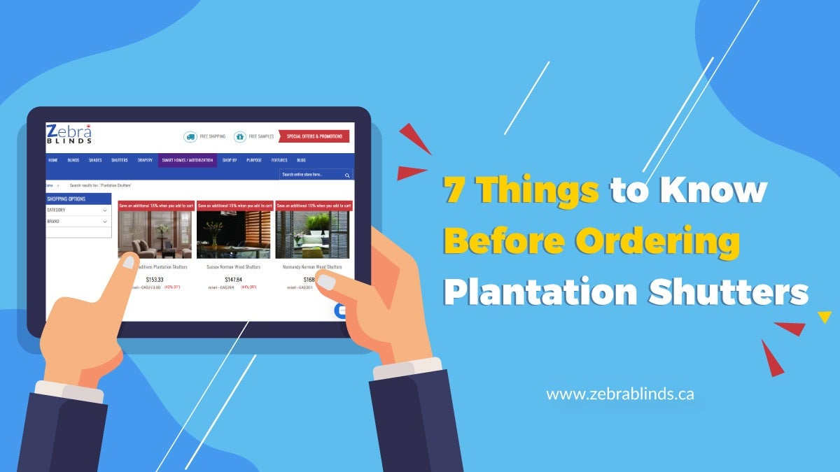 7 Things to Know Before Ordering Plantation Shutters