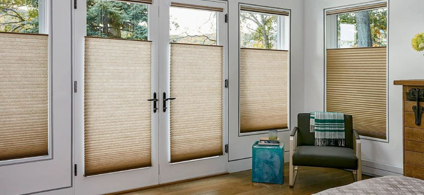 Cellular Shades for Front Door