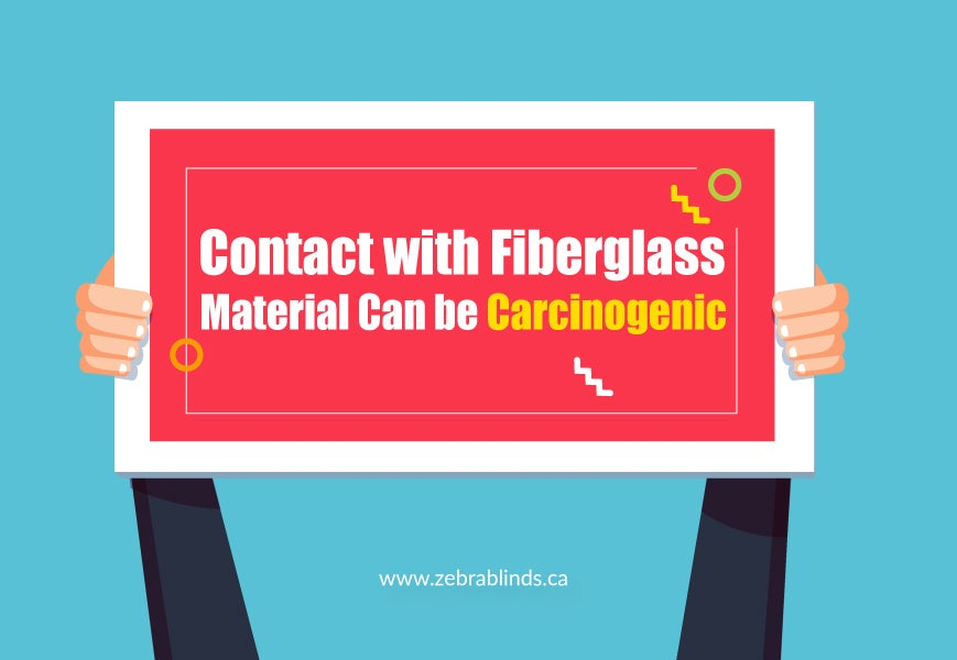 Contact with Fiberglass Material Can be Carcinogenic