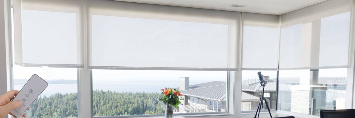 Electric Motorized Blinds