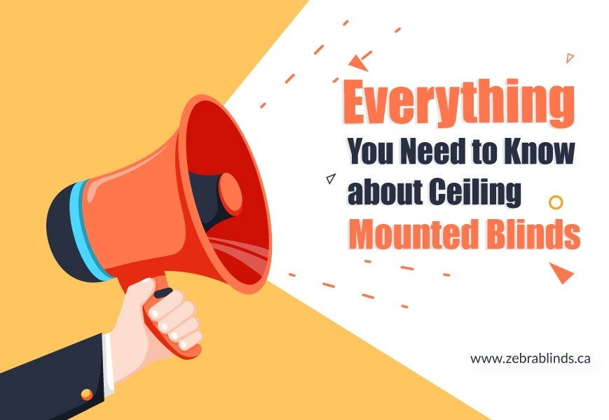 Ceiling Mounted Blinds