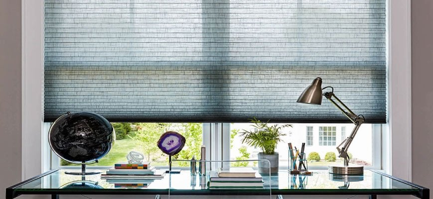 Cellular Honeycomb Shades for Office