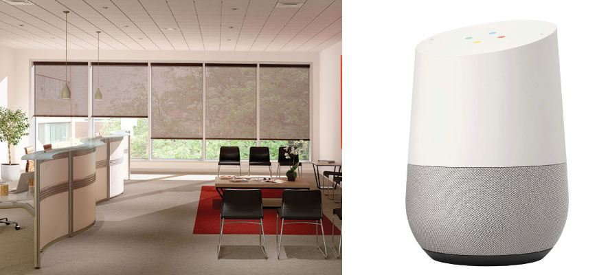 Voice Controlled Window Shades for Office