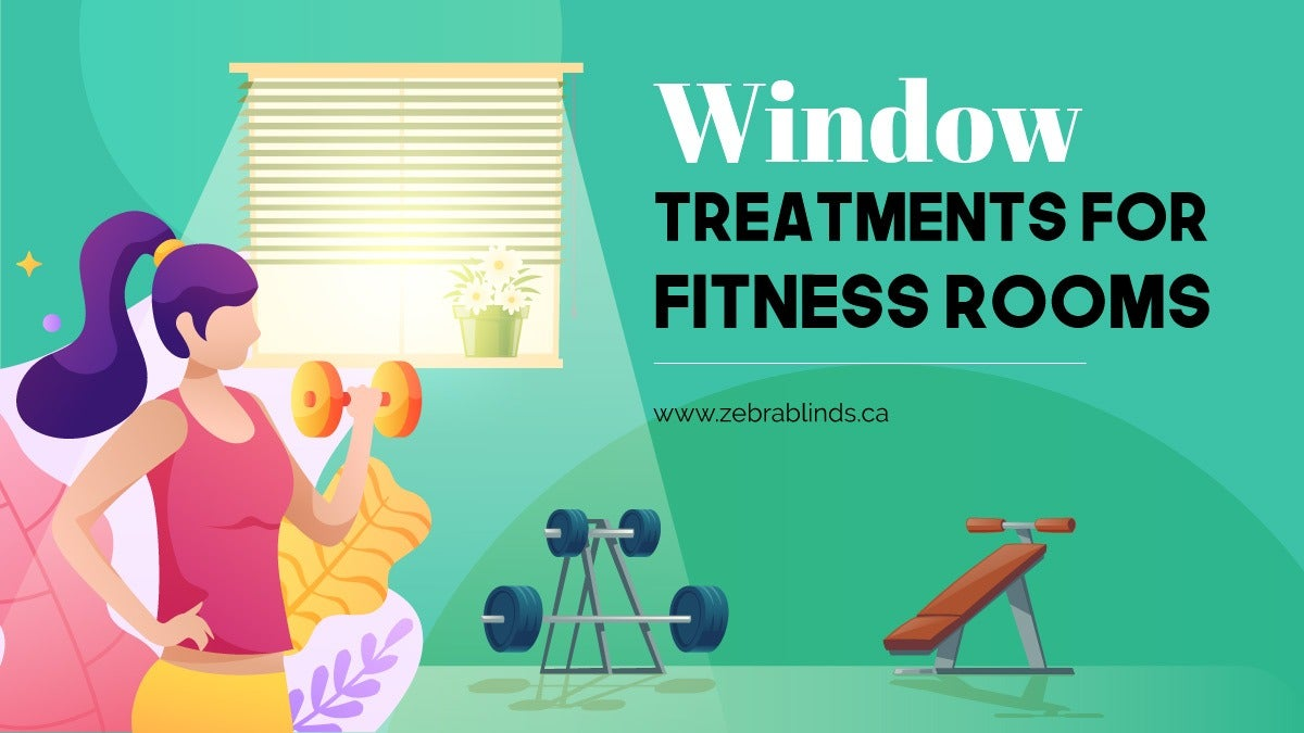 Window Treatments for Fitness Room