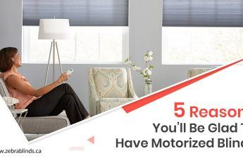 5 Reasons To Have Motorized Blinds