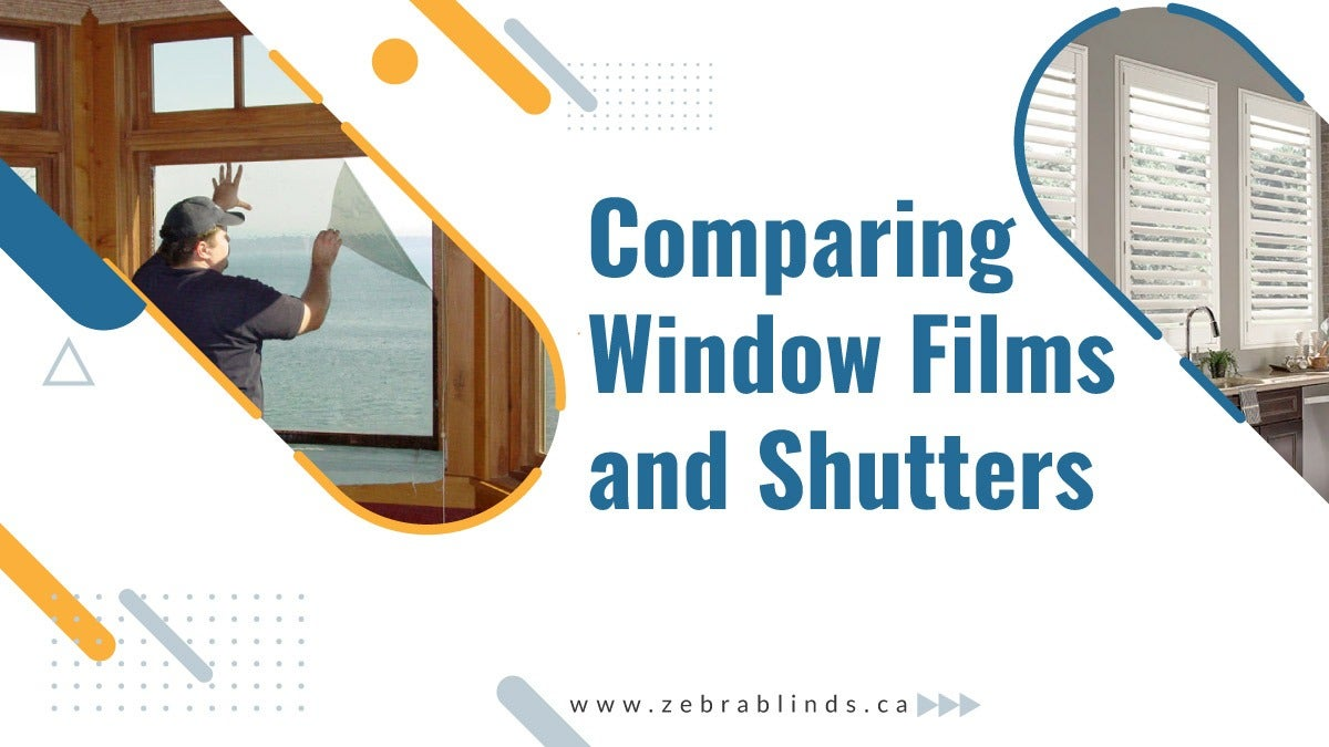 Comparing Window Films and Shutters