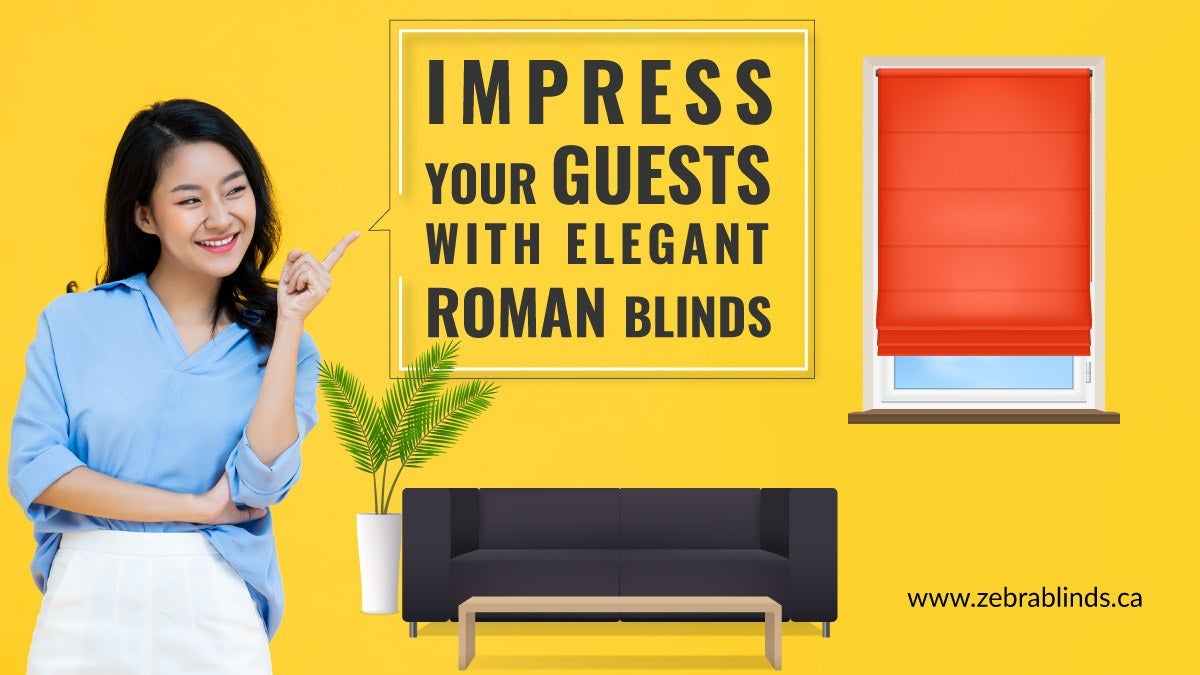 Elegant Roman Blinds