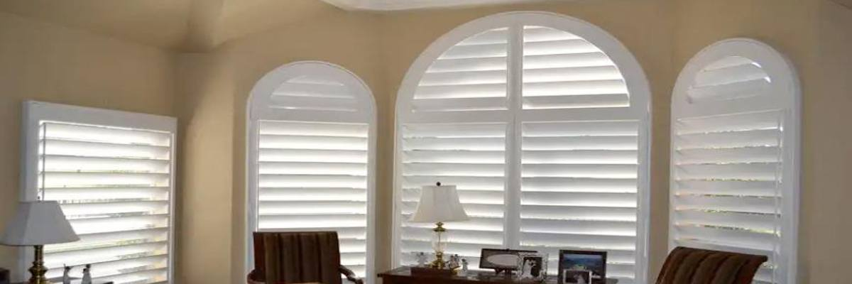 Custom Arched Window Coverings