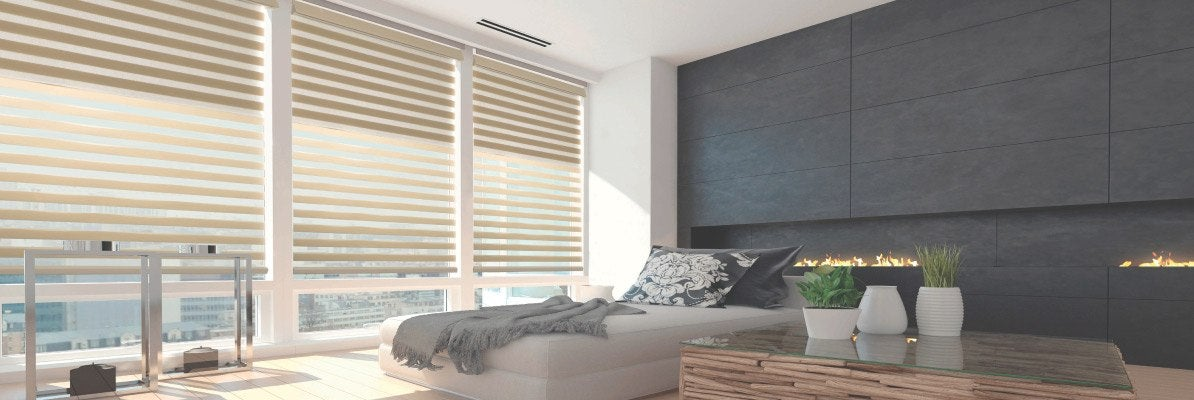 Dual Sheer Shades with Blackout Fabric