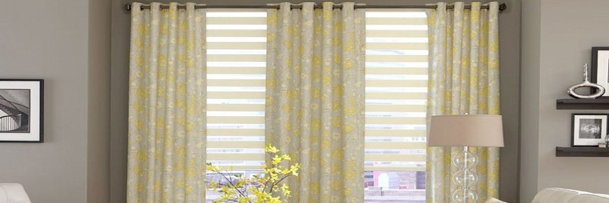 Layered Window Treatments